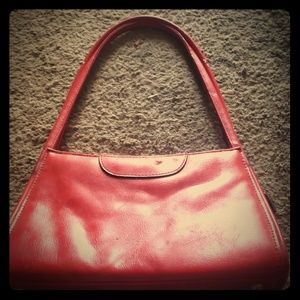 Sexy small red vintage purse